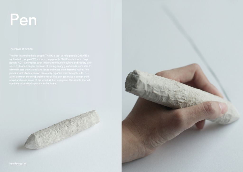 Portland Stone Pen by Hyun Lee